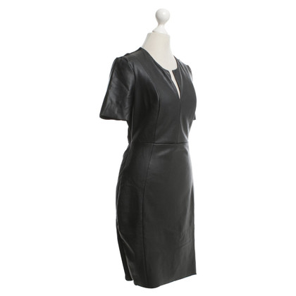 McQ Alexander McQueen Dress with leatherette trim