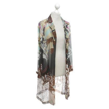 Etro Lange Jacke aus Seide