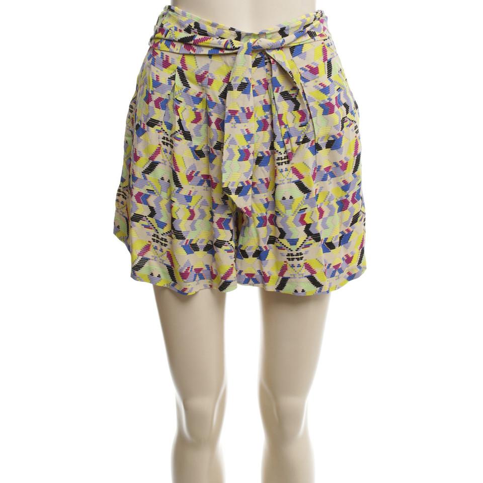 Antik Batik Shorts mit Ethno-Muster