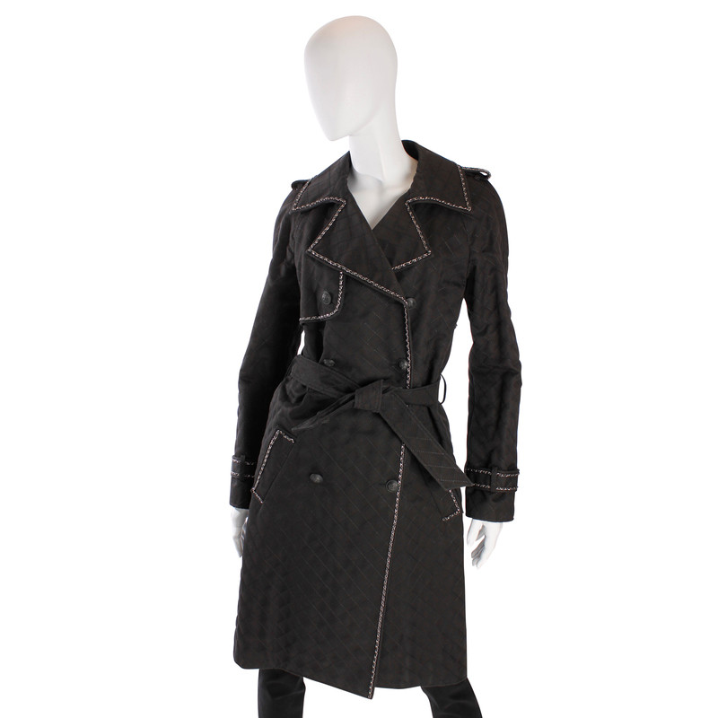 Chanel Trench coat Chanel Trench coat ...