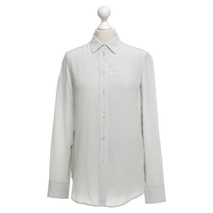 Filippa K Zijden blouse in mintgroen