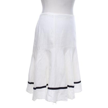 Ralph Lauren Linen skirt in bicolour