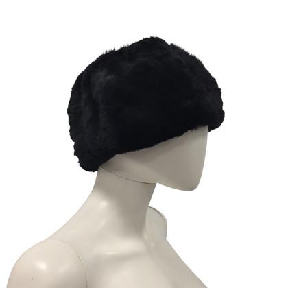 Yohji Yamamoto Fur hat