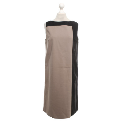 Max & Co Robe coloris taupe / noir