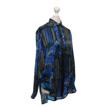 Versace Bluse mit asiatischem Print