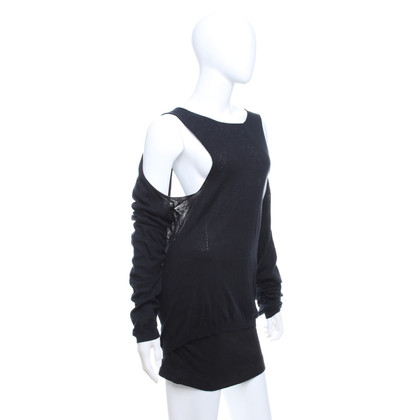 Ann Demeulemeester maglione maglia in nero