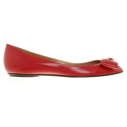 Valentino Ballerinas in red
