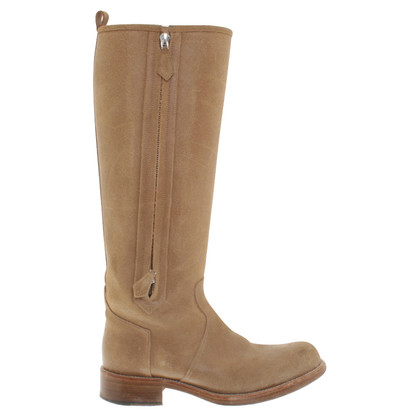 Hermès Boots in Beige