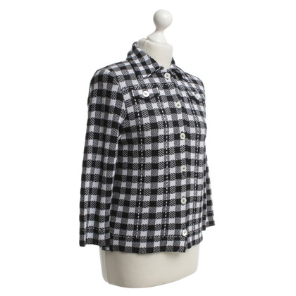 Marc Cain Karobluse in black and white