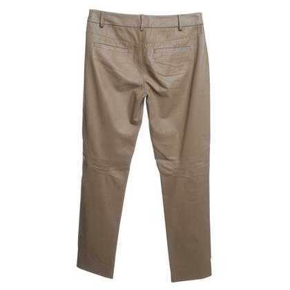 Strenesse Lederen broek in beige