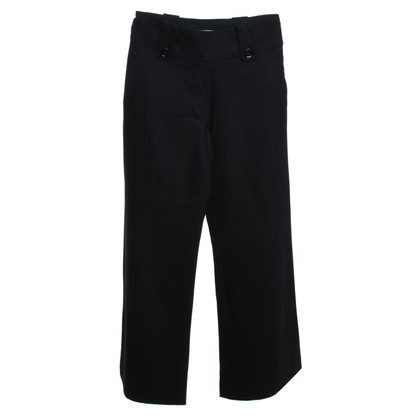 Burberry pantaloni di lana in nero