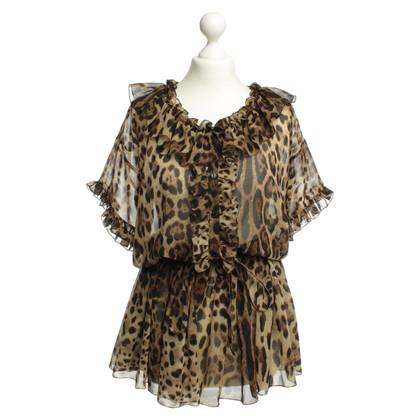 Dolce & Gabbana Luipaard print jumpsuit