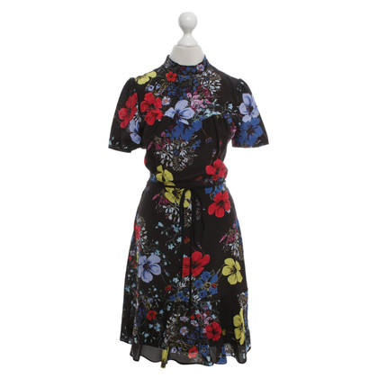 Erdem Silk dress with a floral pattern
