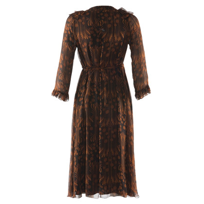 Burberry zijden jurk