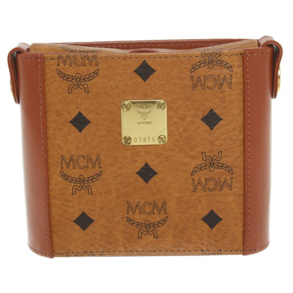 MCM Shoulder bag in cognac