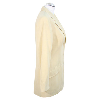 Bogner Wool blazer in yellow