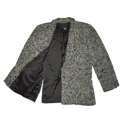 Giorgio Armani Grey Mohair Jacket