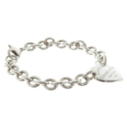 Tiffany & Co. Bracelet avec pendentif coeur