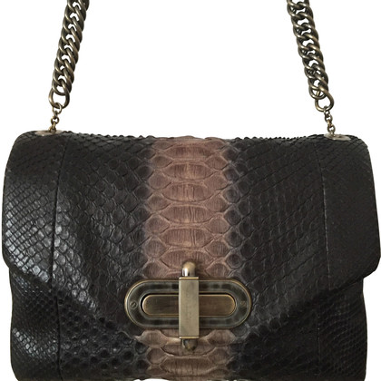 Bally Snakeskin bag