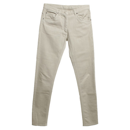 Maison Martin Margiela Cotton trousers in beige