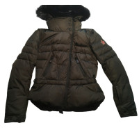 Moncler Jacket with rabbit fur trim