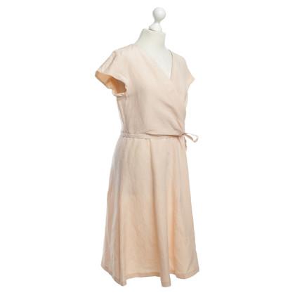 Max Mara Lachsfarbenes jurk