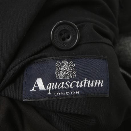 in Grau Schwarz Aquascutum Wendemantel Aquascutum Wendemantel Schwarz Grau in Schwarz Schwarz Z0WxPaq7
