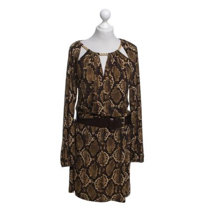 Michael Kors Dress with reptile print