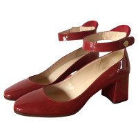 Hugo Boss Red pumps with ankle strap
