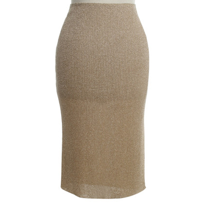 Bruno Manetti Gold color skirt