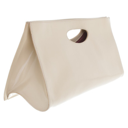 Coccinelle clutch in beige