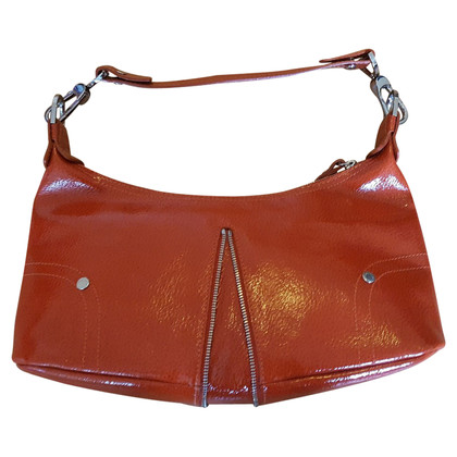 Longchamp Small patent leather handbag