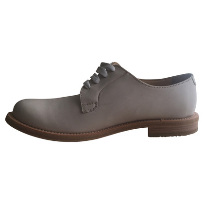 Brunello Cucinelli Lace-up schoen in wit leder