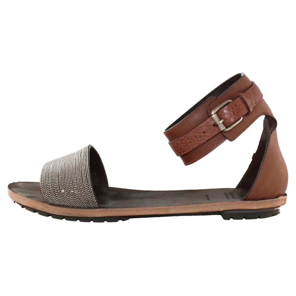 Brunello Cucinelli Sandals in brown