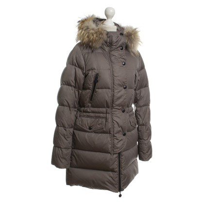 Moncler Down coat in Taupe