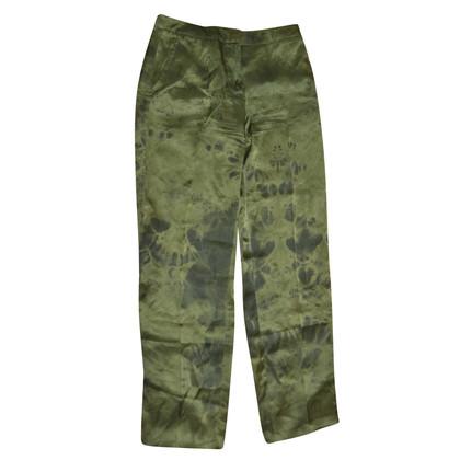 Alexander McQueen silk trousers