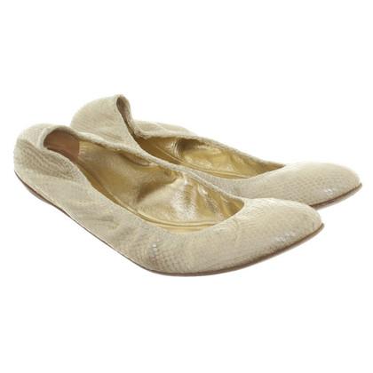 Valentino Ballerinas in beige
