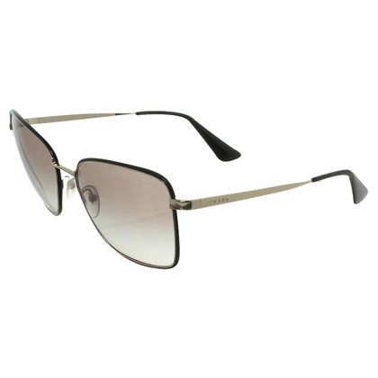 Prada Sunglasses in Black / Gold
