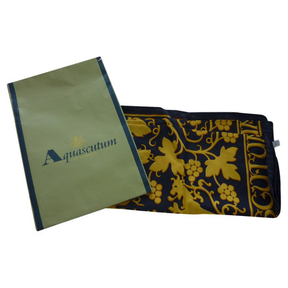 Aquascutum foulard de soie