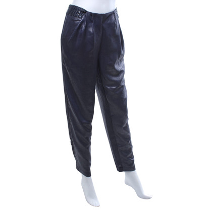 Hoss Intropia trousers in blue