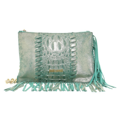 Just Cavalli clutch with fringes