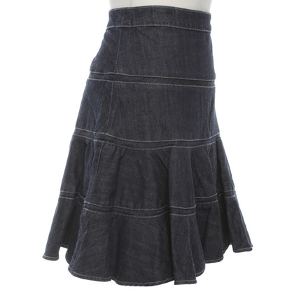 Karen Millen Denim skirt in blue