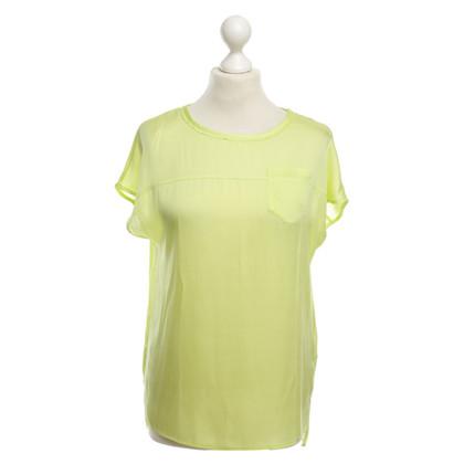 Marc Cain Lichtgewicht T-Shirt in lichtgroen
