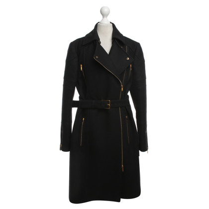 Gucci Wool coat in black