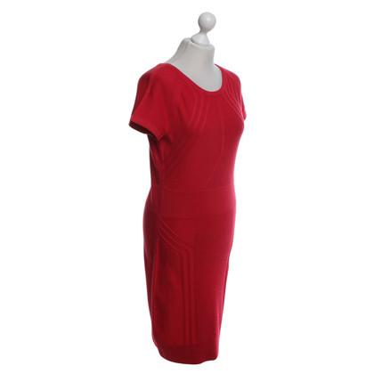 Diane von Furstenberg Strickkleid in Rot