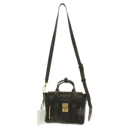 Phillip Lim Pashli Mini Satchel in nero