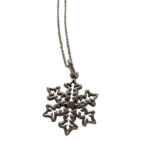 Tiffany & Co. Snowflakes pendant and chain