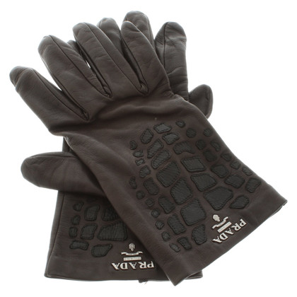 Prada Gloves with details