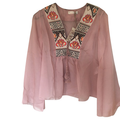 Odd Molly Silk blouse with embroidery