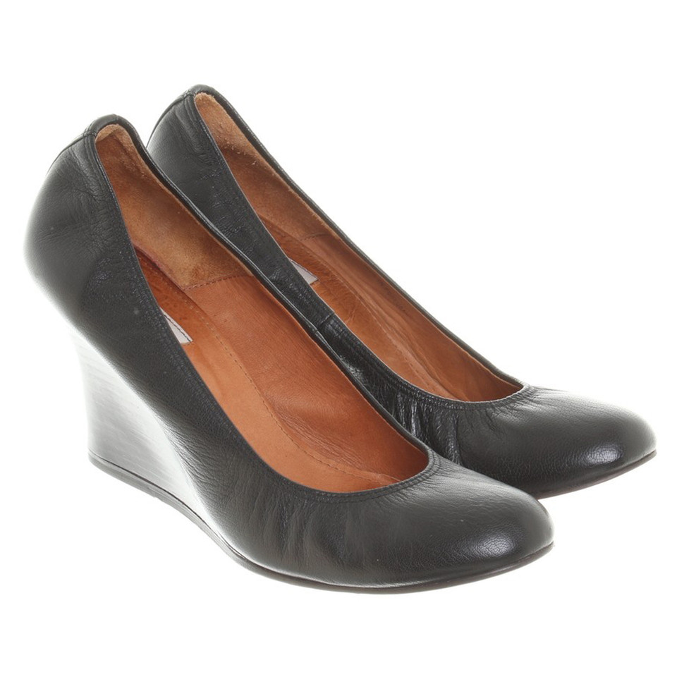 Lanvin pumps with wedge heel